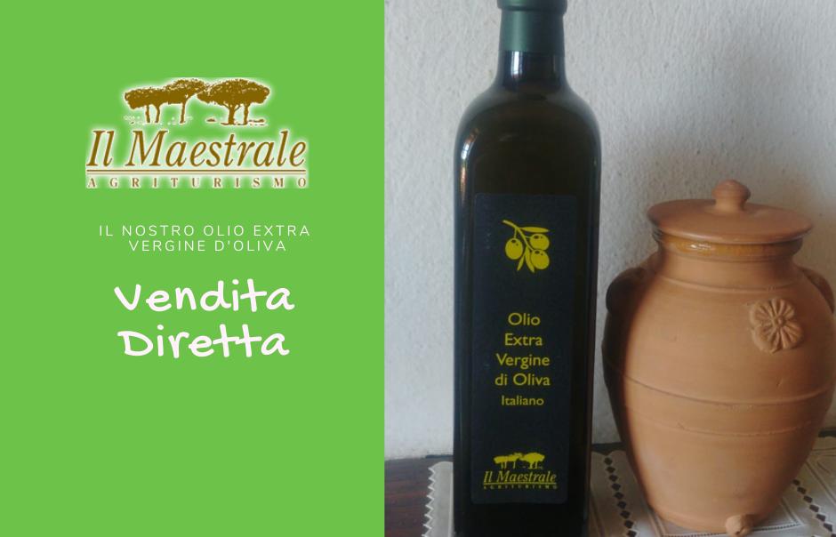 Agriturismo vicino Castiglione della pescaia - vendita diretta olio